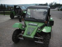 Snowshoe has partnered with Green Zebra to offer buggy tours of the mountain